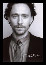 TOM HIDDLESTON AUTOGRAPHED SIGNED & FRAMED PP POSTER PHOTO