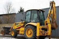 Komatsu WB97R-2 Backhoe Loader Workshop Manual