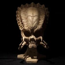 "19"" Predator Skull 1/1 Life-Size Figure Statue AVP Model Toy Aliens Collectibles"
