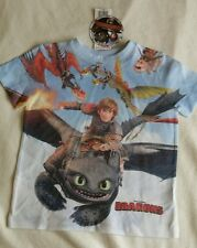 How to Train Your Dragon age 3-4 T-shirt New Official Genuine Licensed