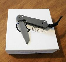 CHRIS REEVE New Small Sebenza 21 Plain Edge S35VN Tanto Blade Knife/Knives
