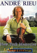 André RIEU New York Memories  / Live At Radio City DVD / All Zone - Andre - NEW
