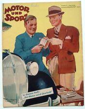 Motor und Sport 1937-37:  * Mercedes-Benz 260 Diesel * Motorüberholung