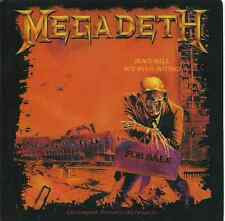 MEGADETH peace sells but whos buying 2010 VINYL STICKER official - IMPORT