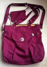 BAGGALLINI SANTIAGO TOTE ~ Mulberry w/ Mango Lining