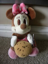 RARE DISNEY SEGA FLAVOUR OF THE MONTH SERIES 1 CHOCOLATE MINNIE MOUSE SOFT TOY