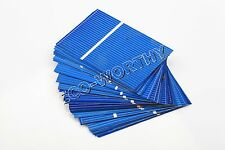 40pcs 52x76mm Solar Cells for DIY 20W Poly Solar Panel Charger Gift 0.62W/pc