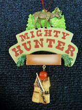 "KSA ADLER ""Mighty Hunter"" Hunting Christmas Ornament NEW with tag (o2170)"