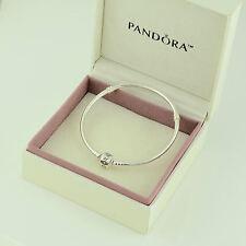 Authentic Pandora Silver Clasp Bracelet 20cm - 590702HV-20 - Box Included