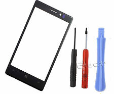 Top Front Cover Screen Lens Panel Pad For Nokia Lumia 925 N925 Black Tools UK