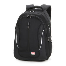 "Men women 15.6"" Laptop Backpack Shoulders Bag School Outdoor Bag SWISS GEAR"