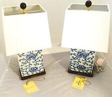 Ralph Lauren  Mandarin Blue White Traditional Porcelain Ceramic Table Lamp