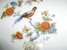 Vintage Royal Epiag of Czechoslovakia 15 3/4 Inch Platter with  Exotic Bird