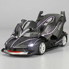 1:32 Ferrari FXXK Alloy Diecast Model Car Sound&Ligh​t B2874 black
