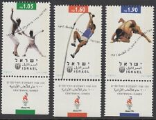 ISRAEL : 1996 Olympic Games,Atlanta set SG1332-4 MNH