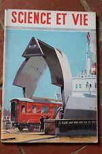SCIENCE ET VIE N°362 (nov 1947) Les ferry-boats - Traction électrique