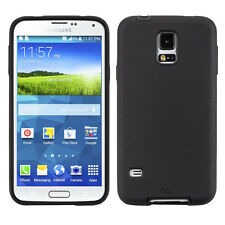 GENUINE CaseMate Samsung Galaxy S5 Tough Dual Layer Case Cover Black | CM030877