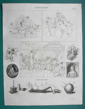 COMPOSITION for Artists & Chiaroscuro - 1820 ABRAHAM REES Print