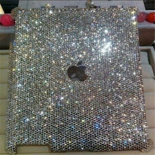New 3D Bling Handmade sparkle diamond Resin crystal For iPad 2 3 4 case cover AB