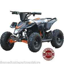 MotoTec 24v Mini Quad v3 Electric Powered Ride On Atv Kids Dream Toy - BLACK