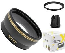 52mm Pro Series Wide Angle Lens for Panasonic Lumix DMC-LX100