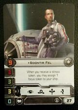 Star Wars X-Wing - Soontir Fel (OP Alternate Art Pilot Card)