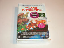 THE LAND BEFORE TIME VHS 82794 CLAMSHELL MCA UNIVERSAL FACTORY SEALED NEW COPY