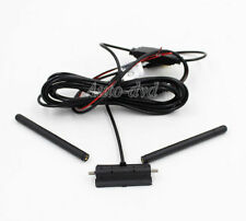 Free Shipping Car Digital Analog TV Antenna Receiver Aerial IEC Connector Port