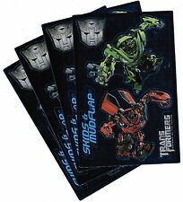 4 Sheets Transformers SKIDS and MUDFLAP Stickers!