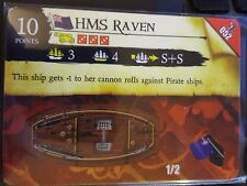 Wizkids Pirates of the Caribbean #052 HMS Raven Pocketmodel CSG