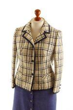 Vintage orig 60er Kostümjacke Blazer Tweed Wolle HORST MANDEL Sekretärin 42