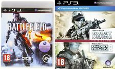 Ghost Recon Future Soldier and advance warfighter 2 & battlefield 4   new&sealed