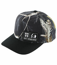 MENS METAL MULISHA –BOXED- BLACK CURVED SNAPBACK HAT
