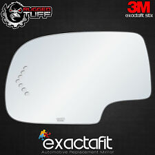CHEVROLET GMC CADILLAC TRUCK SUV MIRROR GLASS TURN SIGNAL FLAT REPLACEMENT LH