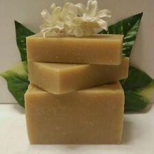 TURMERIC SOAP WITH AVOCADO BUTTER AND COCONUT OIL 4.5   OZ. REVITALIZES SKIN