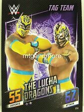 Slam Attax Then Now Forever - #231 The Lucha Dragons