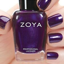 ZOYA ZP809 GIADA ~ metallic purple shimmer nail polish ~ FLAIR Fall 2015 *NEW