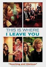 THIS IS WHERE I LEAVE YOU DVD **NEW** SEALED IN PACKAGE!!