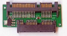 1.8 Micro Sata 7+7+2pin 16-Pin SSD Female to 2.5 Sata 7+15pin  Male Adapter