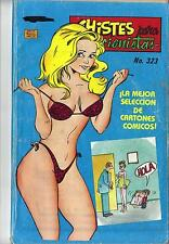 CHISTES PARA COLECCIONISTAS N.-323 from 1990 MINA Mexican Comic Jokes Sexy Girls