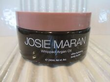 JOSIE MARAN WHIPPED ARGAN OIL BODY BUTTER TOASTED BROWN SUGAR 8 OZ SEE DETAILS