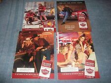 5 Ad Lot for Swisher Sweets Tip Cigars Vintage Ads