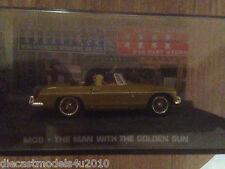 Collection James BOND-MG MGB Roadster-l'homme au pistolet d'or