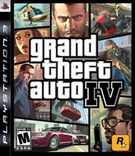 Grand Theft Auto IV 4 GAME (Sony Playstation 3) PS PS3 **FREE SHIPPING!!