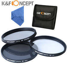 52MM UV Slim CPL ND4 Filter kit for Nikon D5300 D5200 D5100 D3200 D3300 18-55mm