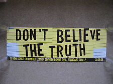 Oasis - Don't Believe the Truth - BANNER POSTER