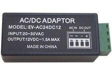 24 Volt AC to 12V DC Power Converter Reducer Adapter