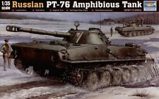 Trumpeter 1/35 PT-76 Amphibious Tank #00380 #380 *New*Sealed*