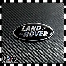 Fit Range Rover Land Rover Gloss Black 3M Hood Trunk Tailgate Emblem Oval Badge