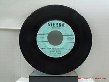 GLORIA SMYTH -(45)- DON'T TAKE YOUR LOVE FROM ME / PLAYMATES - SIERRA - 1959